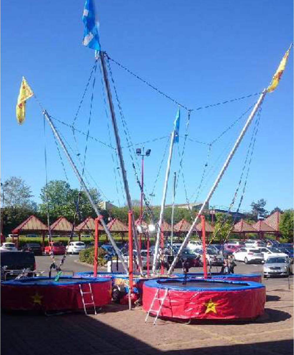 Bungee Trampolines! - 7/8th July 12-4pmSpring into Action!