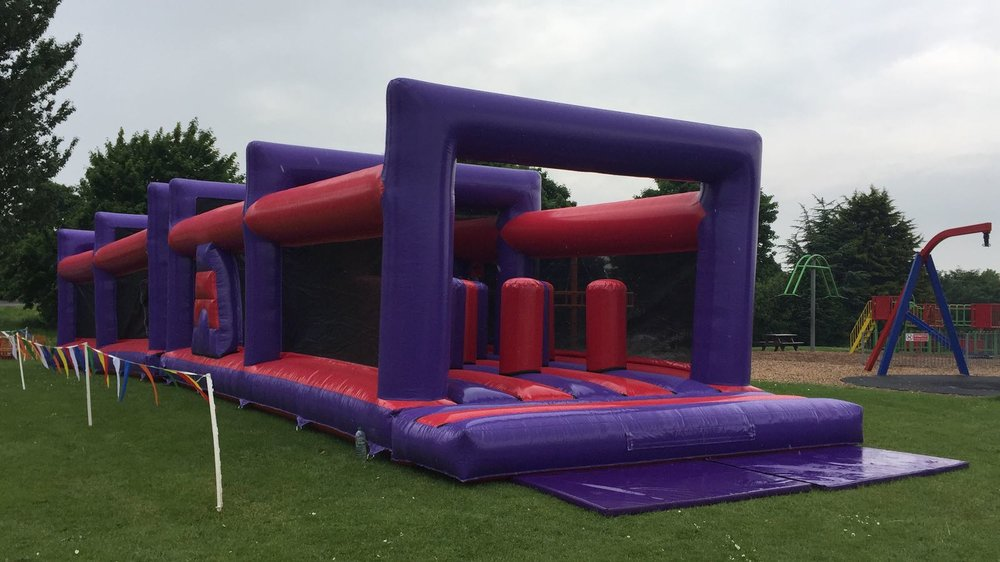 65ft Temple Assault Course! - 11/12th August 11am-4pm