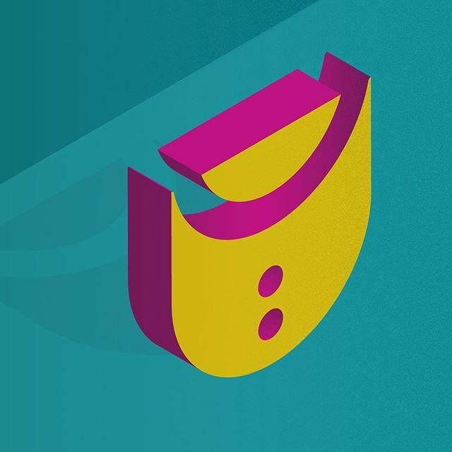 U #36days_U ___ #36daysoftype @36daysoftype @adobecreativecloud #adobeillustrator #vectorart #textures #outerhebrides #outerhebridesofscotland #westernisles #typeface #abstractbuilding #abstractletters #scotland #scottishislands