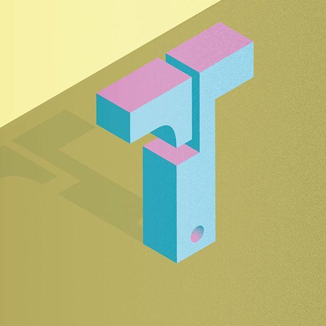 T #36days_T ___ #36daysoftype @36daysoftype @adobecreativecloud #adobeillustrator #vectorart #textures #outerhebrides #outerhebridesofscotland #westernisles #typeface #abstractbuilding #abstractletters #scotland #scottishislands