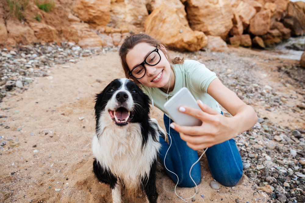 24% - take more photos with their dog than with friends, family, or their significant other.