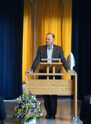 Ollemic Thommesen - MP, Norway and President of the Norwegian Parliament