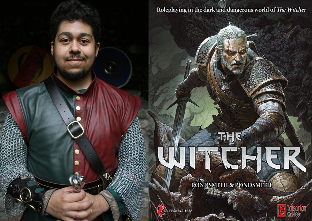 Cody Pondsmith and The Witcher.