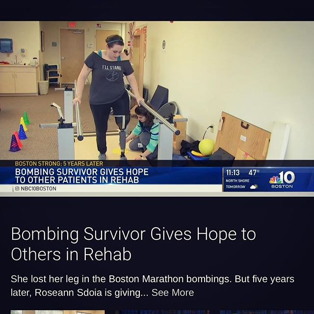 Check out the NBC Boston news story that was on last night. Link in profile 👆🏻 #oneleggedwoman #amputeefriend #nbcboston . . . . #amputee #amputeegirl #amputeelife #amputeestrong #spauldingrehab #bostobstrong #news #nbcnews