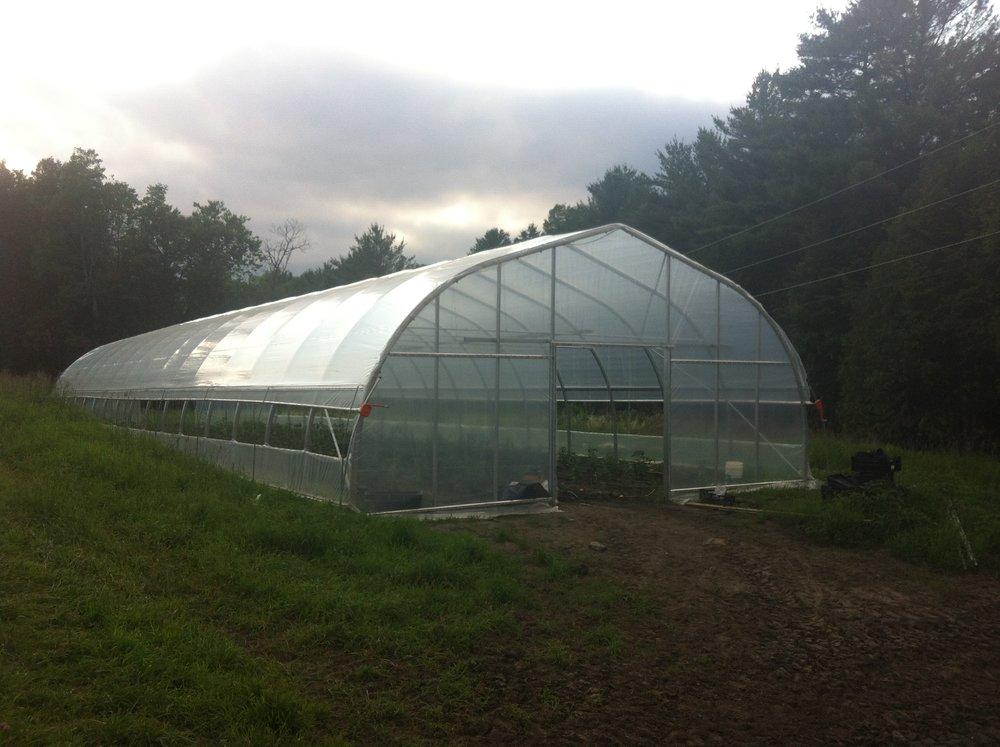Bear Roots Farm Harnois Greenhouse