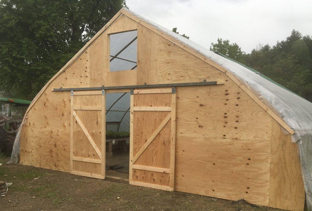 Endwall Rebuild - Settlement Farm