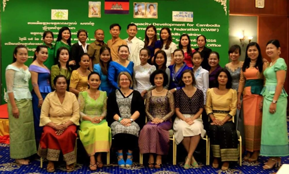 Photo: Cambodian Women Business Federation