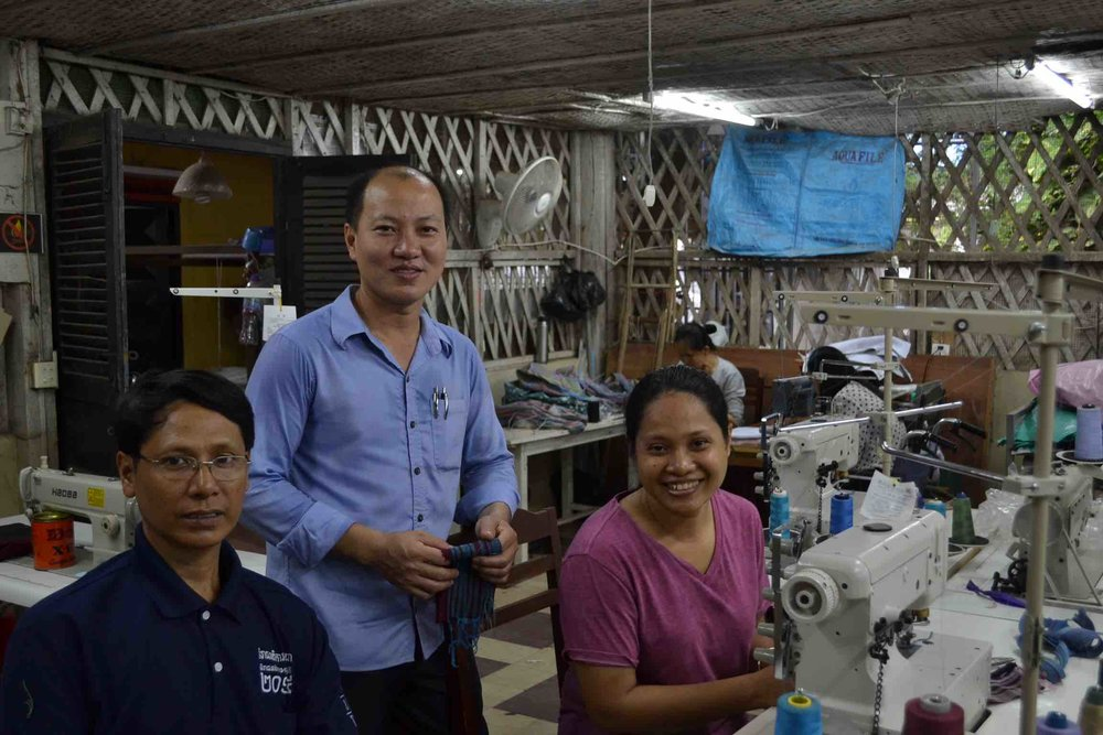 Watthan Artisans Cambodia    Loan:  Sewing machines to scale production, create new jobs, and train vulnerable people in garment manufacturing