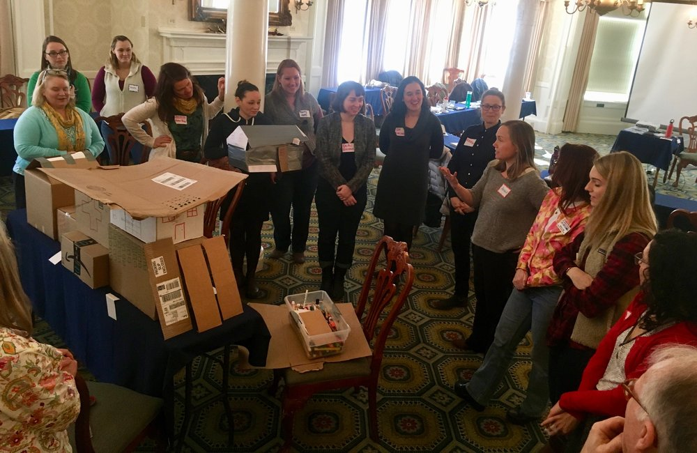 2-day Training: Poverty in an unequal context - 2018, Addison County, VT - Participants from various agencies and non-profits working in substance abuse prevention. Organized by the United Way.