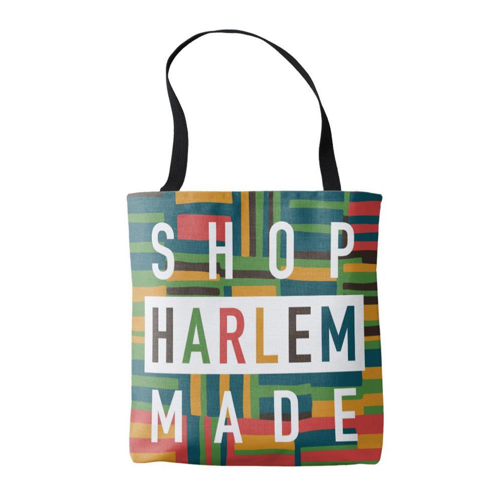 GET YOUR OWN SHOP HARLEM MADE TOTE BAG! -