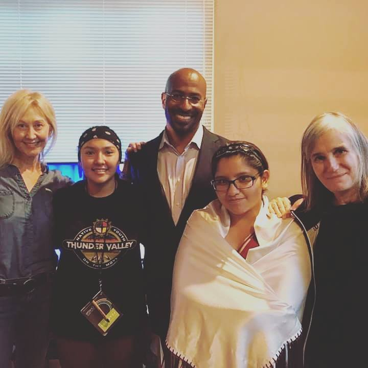 "Lauren and Andreanne speak at Omega ""Being Fearless"" Conference along with Van Jones (CNN), and Amy Goodman (Democracy Now!)"