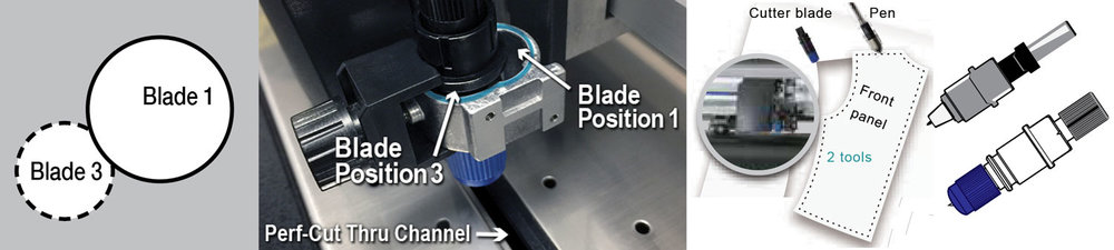 Graphtec CE6000 Plus Series - Perf cut enabled high performance cutters finish the job