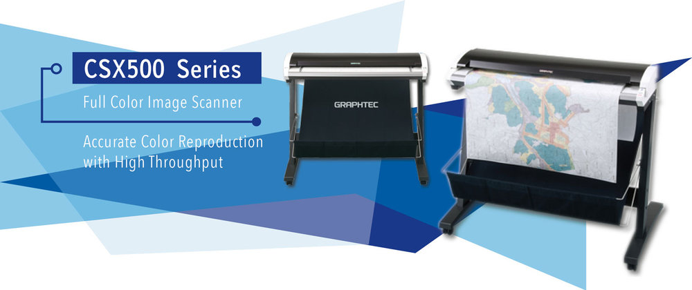HIGH RESOLUTION SCANNER, LARGE FORMAT SCANNER, ARCHITECT SCANNER, CIVIL ENGINEER SCANNER, REASONABLE PRICE SCANNER, GRAPHTEC CSX500