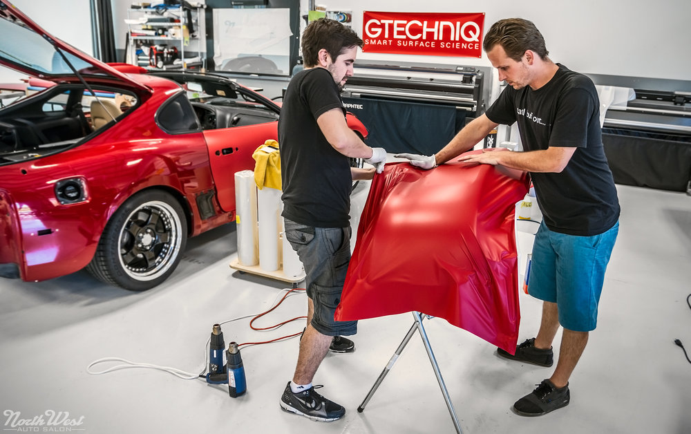 Toyota-Supra-Turbo-wrapped-matte-red-avery-vehicle-wrap-NWAS-7.jpg