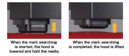 Graphtec Automatic Registration Mark Hood of Sensor Media Holder