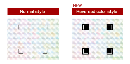 Graphtec Automatic Registration Mark Supported Reversed Color Mark