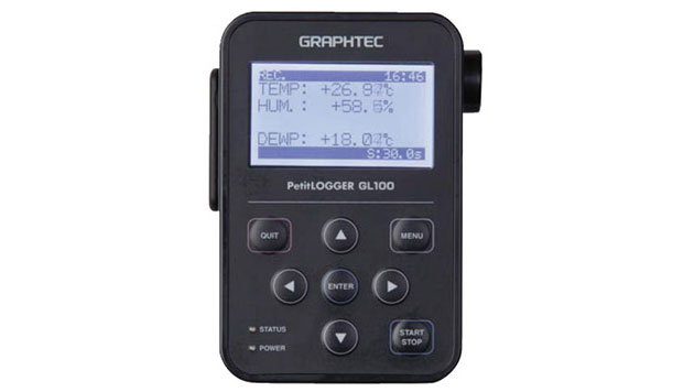 Data Logger Graphtec GL100