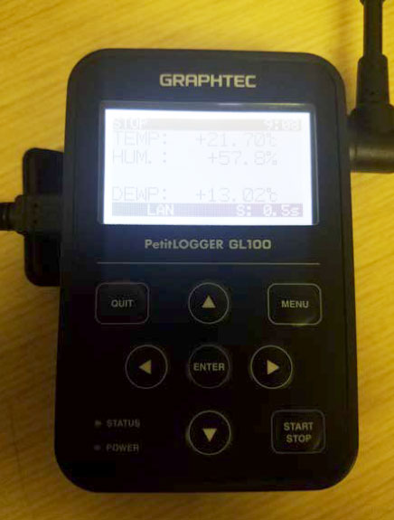 Graphtec Data Logger GL100 to GL240 and GL840 Step 9