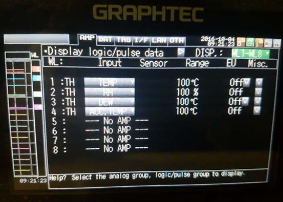 Graphtec Data Logger GL100 to GL240 and GL840 Step 12