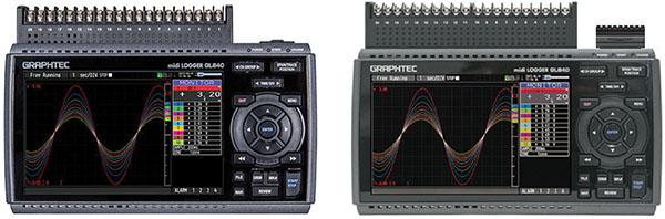 GRAPHTEC MIDI DATA LOGGER GL840 MULTI INPUT MODEL VS WITHSTAND VOLTAGE MODEL