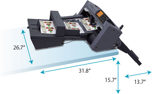GRAPHTEC AUTOMATIC SHEET CUTTER ASC DIMENSIONS