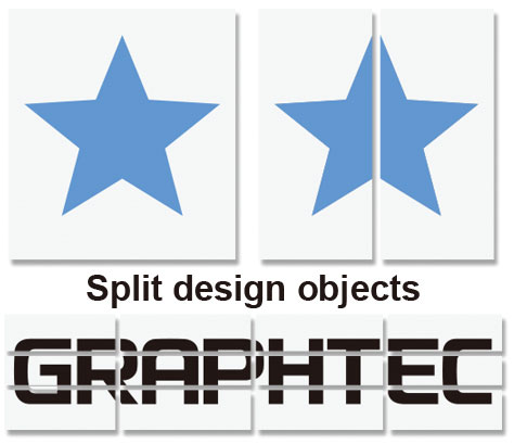 Graphtec Pro Studio Software Split Design Objects