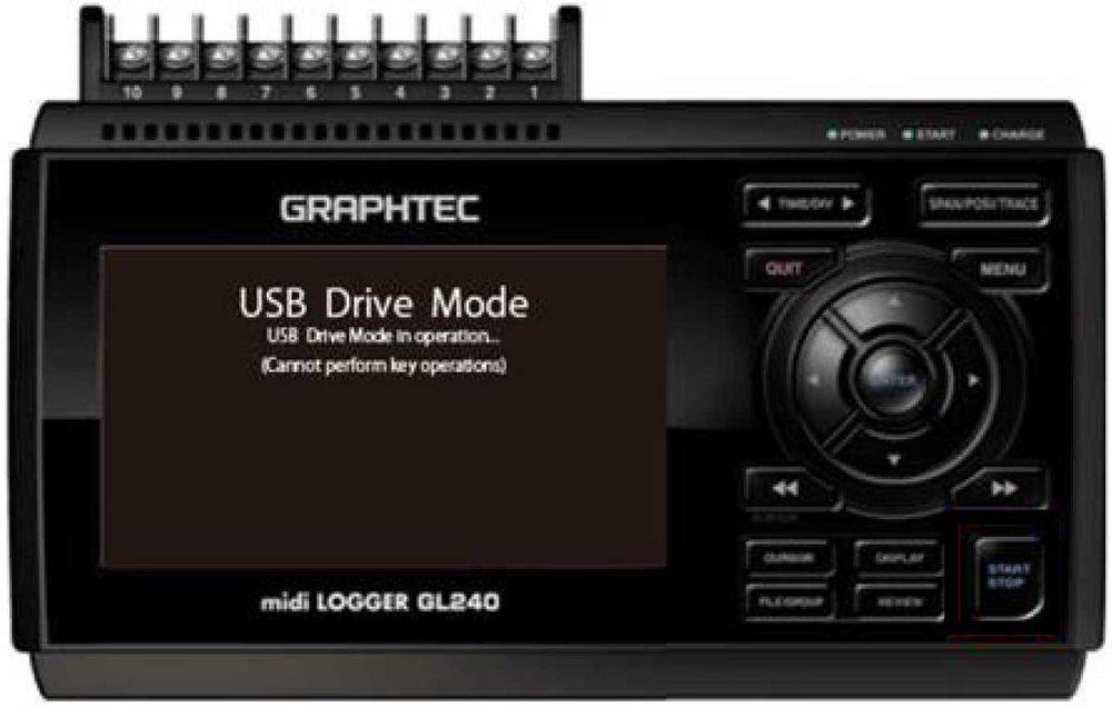 Graphtec Data Logger GL840 USB Driver Mode For GL840 Step 2