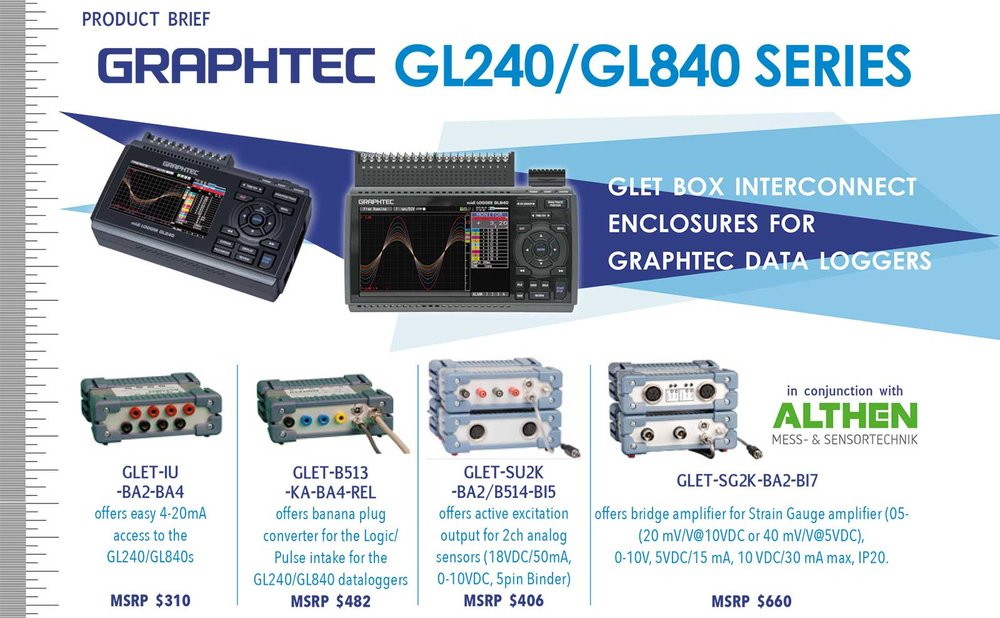 GRAPHTEC GL240 GL840 Product Brief Newsletter Press Release