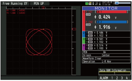 midi logger Graphtec GL2000 Feature LCD XY Graph Monitor Screen.jpg