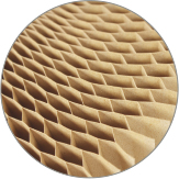 HONEY-COMB                 CARDBOARD