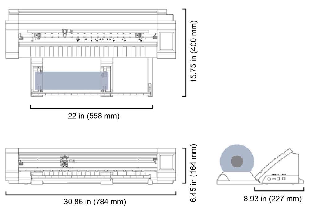 CE Lite-50 when using roll media