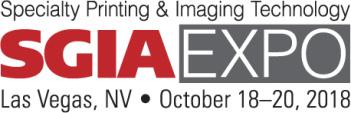 SGIA Expo 2018 Las Vegas