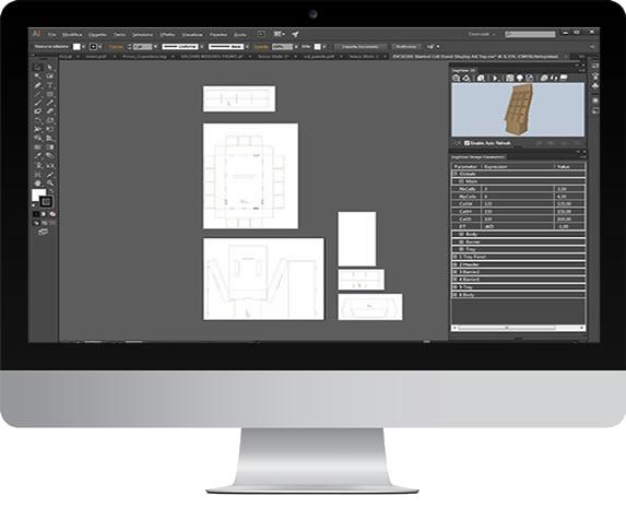 Sign Cutter Machine Packaging Cutter Large Cutter Flatbed Cutter Logo Cutter Graphtec-Optima-V250-Software-M3-Monitor Mac1.png