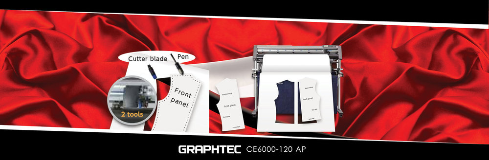 Vinyl+Cutter+Roll Feed Cutter Machine+Graphtec+CE6000 AP Cutter Blade Pen Front Panel 2 Tools Red.jpg