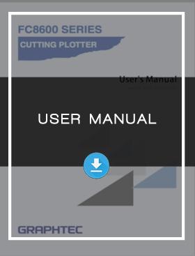 Roll Feed Cutter Cutting Plotter Vinyl Cutter FC8600 User Manual