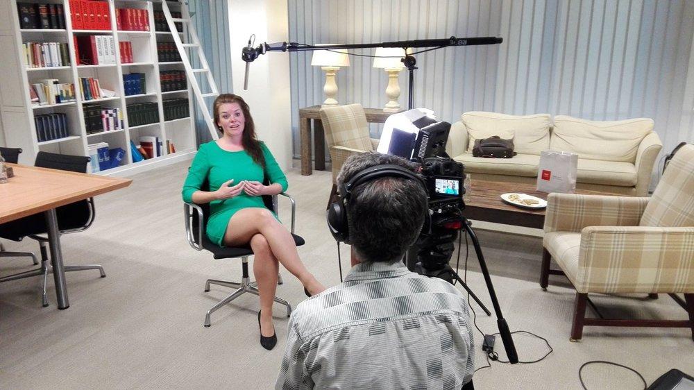 media interviews -
