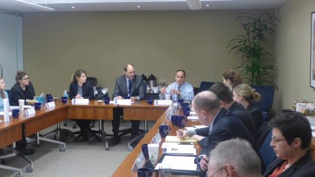 "Expert roundtable on ""Weaponizing Water and the Islamic State"" co-chaired by PILPG Senior Peace Fellow Frederick Lorenz"