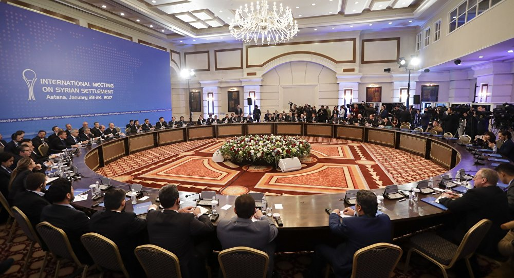 Astana Peace Talks January 2017