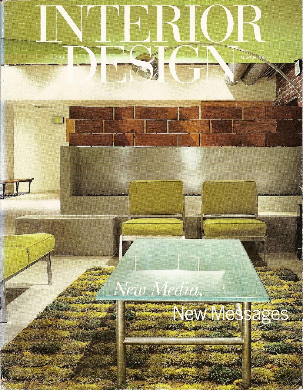 INTERIOR DESIGN - MARCH 2000