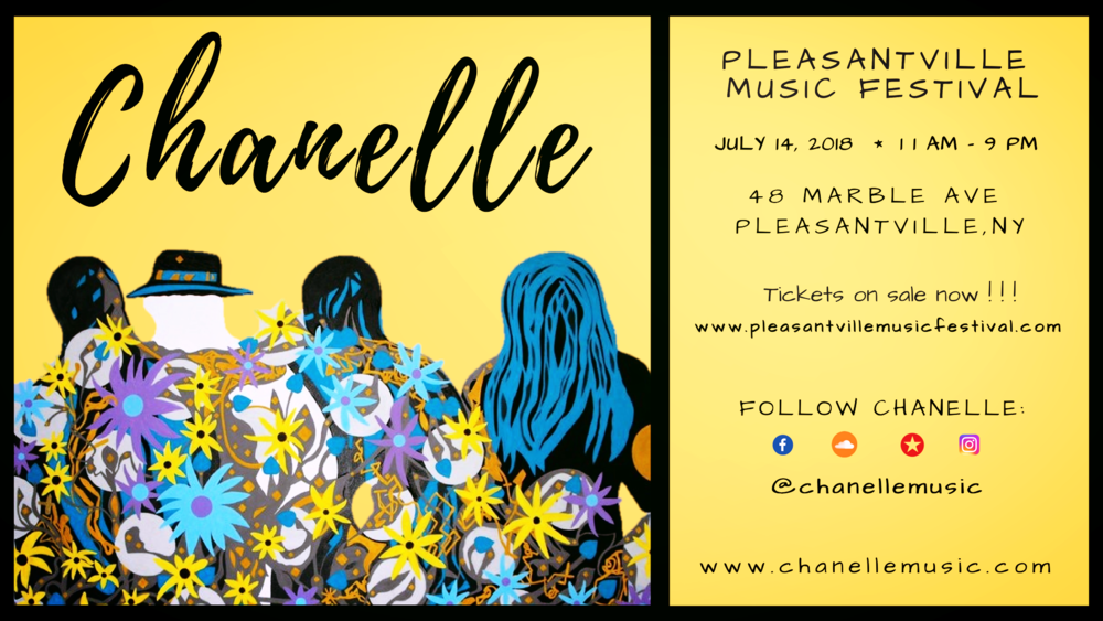 chanelle to make festival debut @ pmf 2018!! -