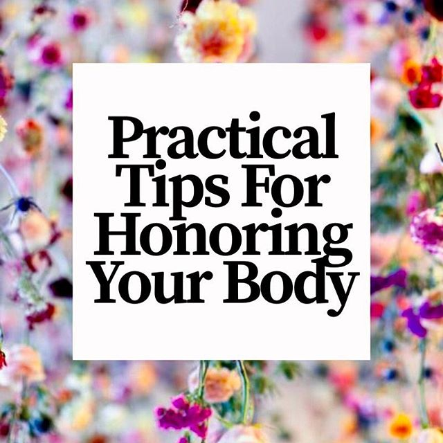 We are constantly bombarded with messages telling us we aren't good enough. Well, it's time to fight back. I'm sharing my practical tips for honoring your body on the blog today. Check it out! . . . . #selflove #bodyacceptance #honoryourbody #selfcare #nutrtionaltherapy #wholehognutrition #edrecovery #getyourperiodback