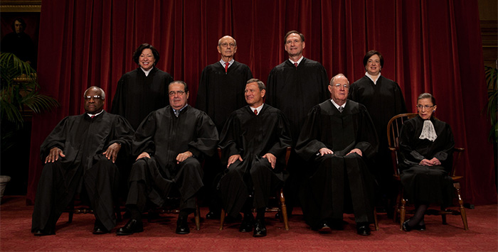 Members of the SCOTUS
