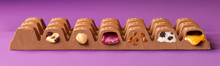 Cadbury – deliciously purple