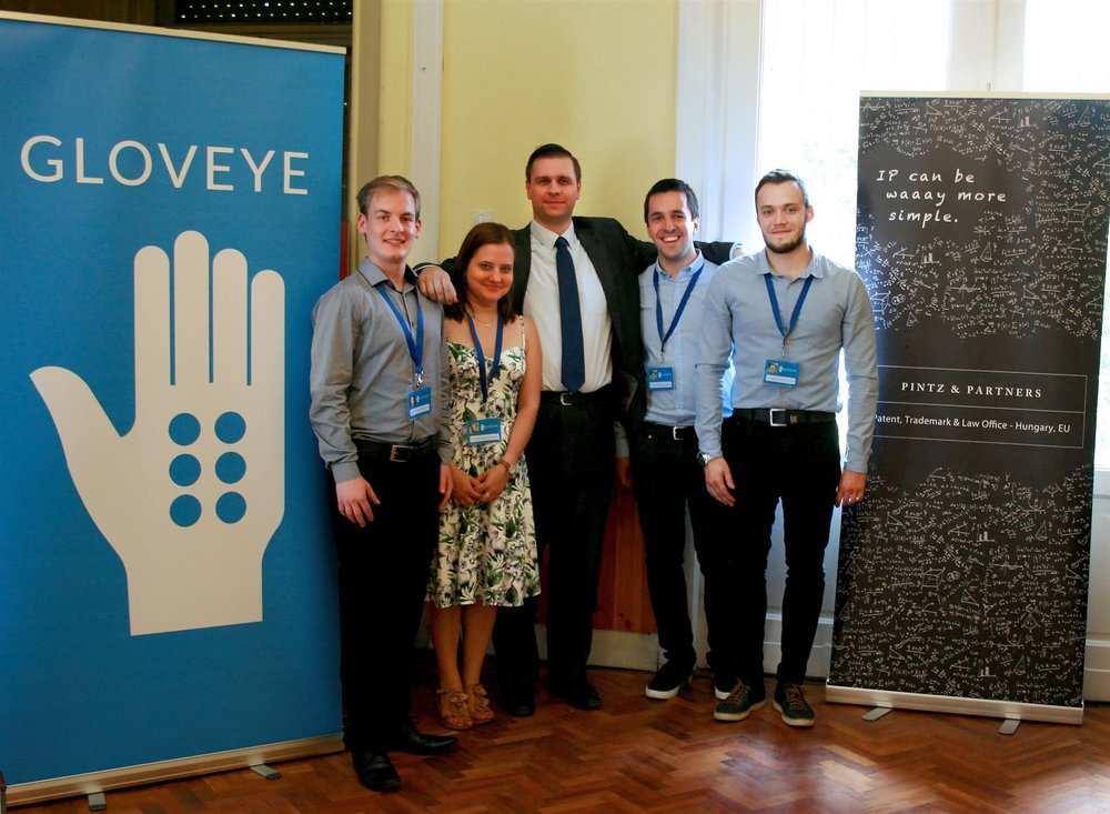 Our colleague, Adam Szalai with the Gloveye team