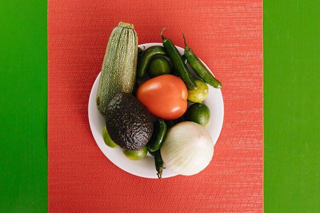 Fresh veggies for an aesthetic
