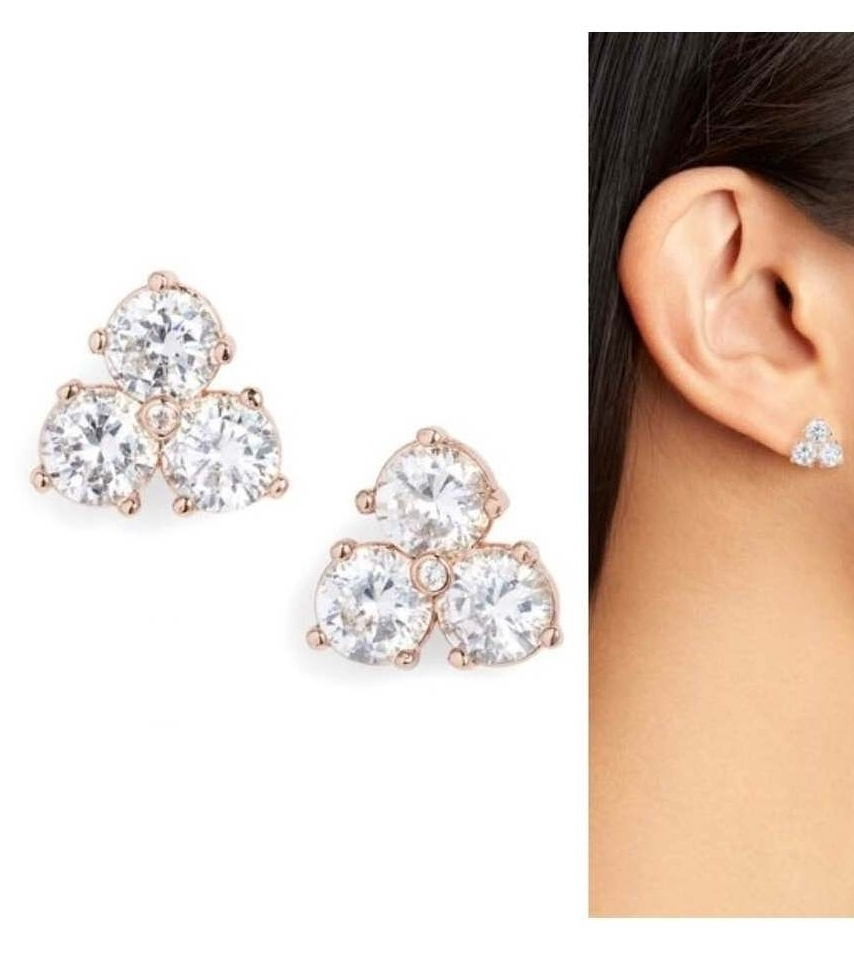 Kate Spade Trio Stud Earrings