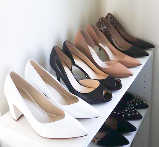 A few favorites pumps in my wardrobe, Love that colors, very functional.