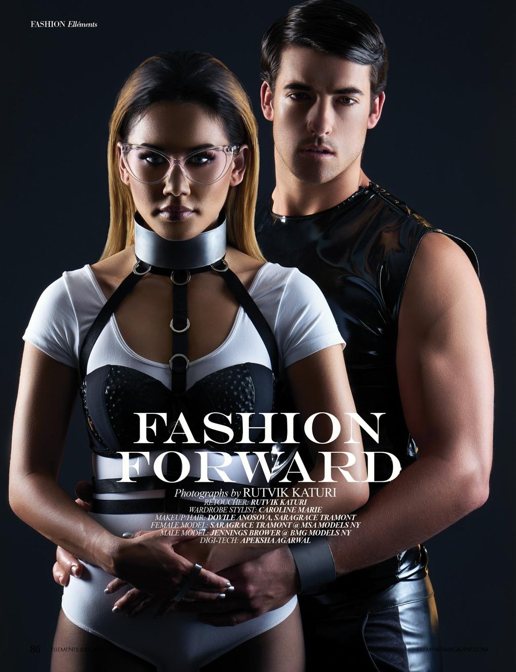 Rutvik Katuri - Fashion Forward: Editorial for Elléments