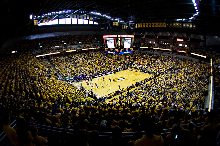 Mizzou Arena Networked Voice Evacuation Fire Alarm System