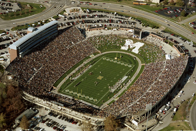 Memorial Stadium - Faurot Field Networked Voice Evacuation Fire Alarm System